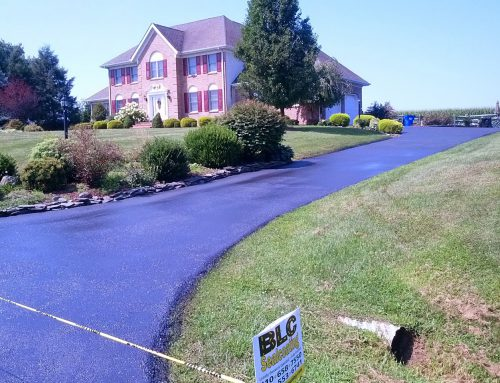 Residential Asphalt Seal Coating